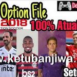 PES 2018 PS3 OFW BLUS Option File Full Summer Transfer AIO