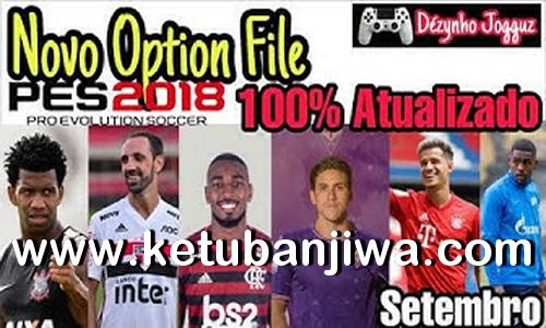 PES 2018 Option File Full Summer Transfer September Season 19-20 For PS3 OFW BLUS by Dézynho Jogguz Ketubanjiwa