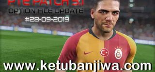 PES 2019 PTE Patch 3.1 Option File Update 28/09/2019