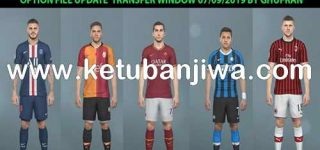 PES 2019 SMoKE Patch 19.1.0 Full Summer Transfer 07/09/2019