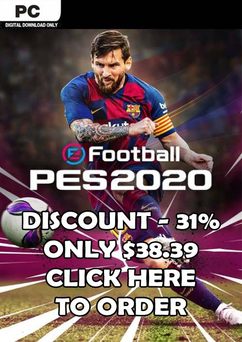 Order PES 2020 For PC With -31% Discount