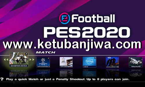 PES 2020 PS2 English Version ISO File Single Link Full Summer Transfer Season 19-20 Ketuban Jiwa