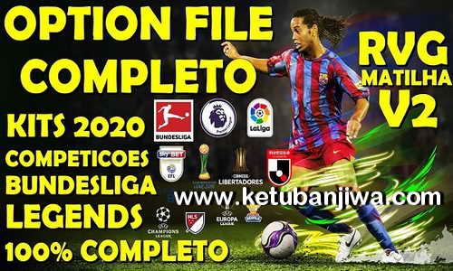 PES 2020 RVGRAPHA Option File v2 AIO Full Bundesliga For PC + PS4 Ketuban Jiwa
