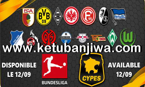eFootball PES 2020 Bundesliga Option File For PS4 + PC by CYPES Ketuban Jiwa