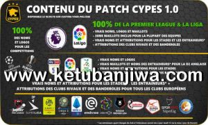eFootball PES 2020 CYPES Patch 1.0 For PS4 + PC Ketuban Jiwa