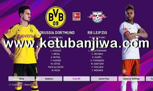 PES 2020 PS4 FBNZ Option File Compilation v1 Full Bundesliga
