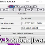 eFootball PES 2020 Master League ML Money Editor