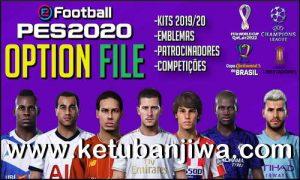 eFootball PES 2020 Option File Fix Kits + Logos + Names For PS4 by PesVicioBr Ketuban Jiwa