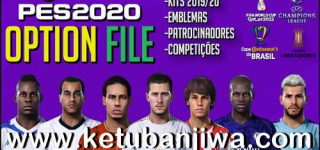 eFootball PES 2020 PS4 Option File v1 Fix Kits + Logos + Names
