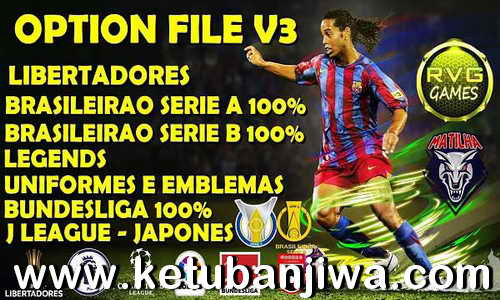 eFootball PES 2020 Option File v3 AIO For PC + PS4 by RVGRAPHA Ketuban Jiwa