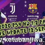 eFootball PES 2020 PS4 Option File Live Update 12/09/2019