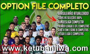 eFootball PES 2020 PS4 + PC PesVicioBR Option File v2 AIO Ketuban JIwa