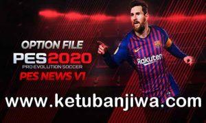 eFootball PES 2020 PS4 PESNews Option File v1 Ketuban Jiwa