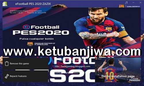 PES 2020 Repack 15GB One Link