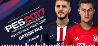 PES 2017 Next Season Patch 2020 Option File 21 October 2019