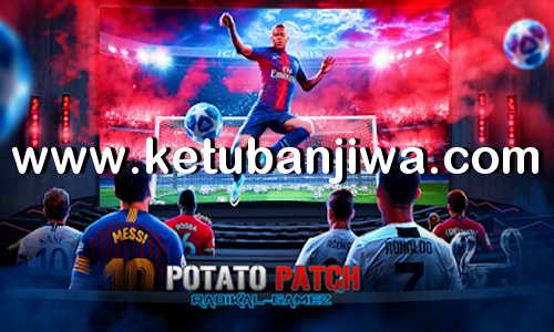 PES 2018 PS3 Potato Patch v8 Savedata Update October 2019