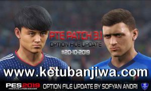 PES 2019 Option File Update 20 October 2019 For PTE Patch v3.1 Season 2020 by Sofyan Andri Ketuban Jiwa