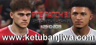 PES 2019 PTE Patch 3.1 Option File Update 29 October 2019