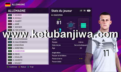 eFootball PES 2020 CYPES Patch v2.1 Update DLC 2.0 For PS4 + PC Ketuban Jiwa