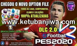 eFootball PES 2020 Option File 2.0 AIO Compatible DLC 2.00 For PS4 by Emerson Pereira Ketuban Jiwa
