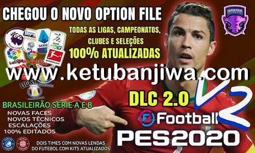 eFootball PES 2020 Option File 2.0 AIO Compatible DLC 2.00 For PS4 by Emerson Pereira Ketuban Jiwa
