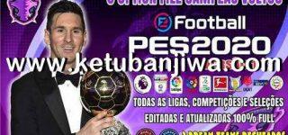 PES 2020 PS4 Emerson Pereira Option File 1.5 AIO