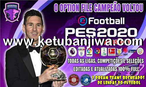 eFootball PES 2020 Option File v1.5 AIO For PS4 by Emerson Pereira Ketuban Jiwa
