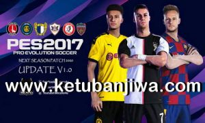 PES 2017 Next Season Patch 2020 Official Update v1.0 by Micano4u Keuban Jiwa