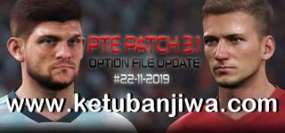 PES 2019 PTE Patch 3.1 Option File Update 22 November 2019