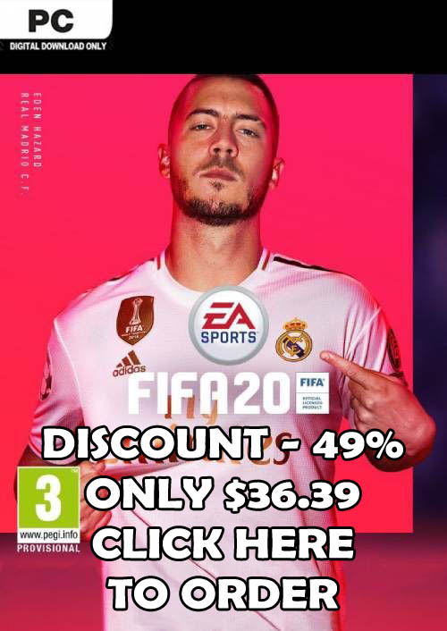 Order FIFA 20 For PC With -49% Discount