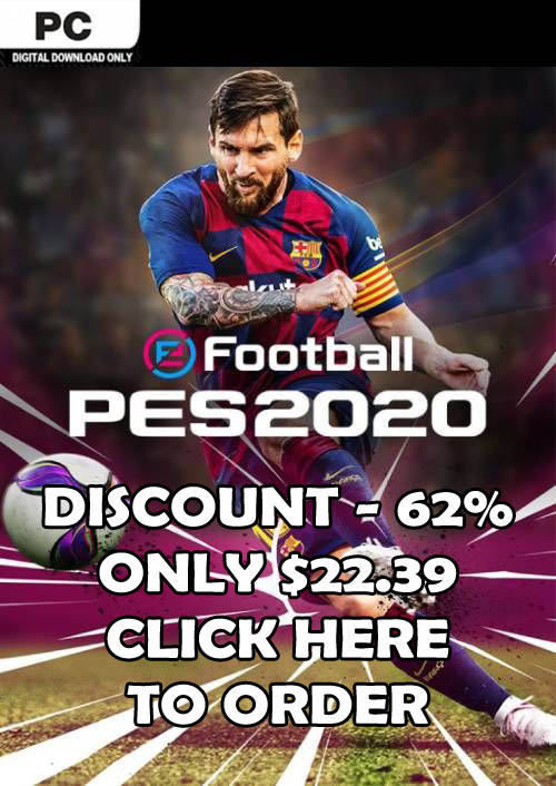 Order PES 2020 For PC With -62% Discount
