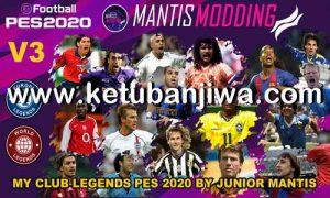 PES 2020 MyClub Legends v3 Offline DLC 3.00 by Junior Manis Ketuban Jiwa