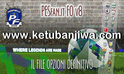 eFootball PES 2020 PESFan Option File v8 AIO Compatible DLC 3.00 For PS4 Ketuban Jiwa