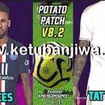 PES 2018 PS3 Potato Patch 8.2 Update Season 2020 Single Link