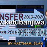 PES 2016 Professional 5.5 Option File Winter Transfer 2020