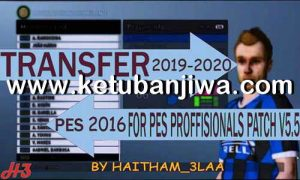 PES 2016 Professional Pach v5.5 Option File Winter Transfer 2020 by Haitam_3laa Ketuban Jiwa