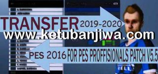 PES 2016 Professional 5.5 Option File Winter Transfer 2020