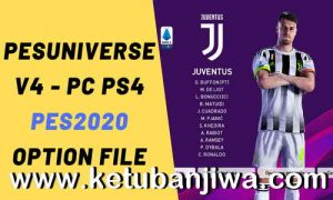 PES 2020 PESUniverse Option File v4 AIO For PC + PS4 Ketuban Jiwa