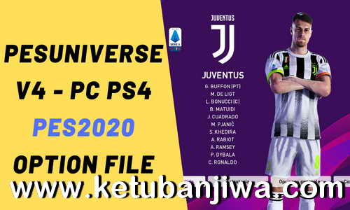 PES 2020 PESUniverse Option File v4 AIO