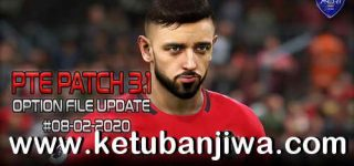 PES 2019 PTE Patch 3.1 Option File Update 08 February 2020