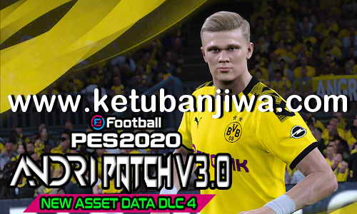 PES 2020 New Asset Data DLC 4.0 For Andri Patch 3.0