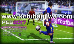PES 2020 New Mod Gameplay+Pitch+Animation For PES 2017 by Micano4u Ketuban Jiwa