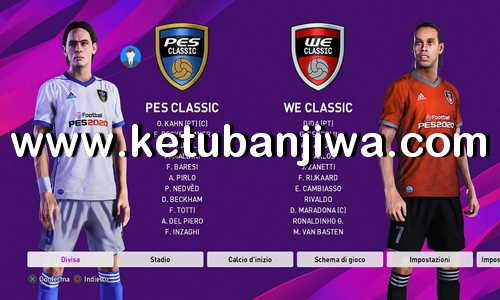 eFooball PES 2020 PESFan Option File v9 AIO DLC 4.00 For PS4 Ketuban Jiwa