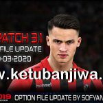 PES 2019 PTE Patch 3.1 Option File Update 29 March 2020