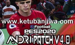 eFootball PES 2020 Andri Patch v4.0 AIO Compatible DLC v5.00 For PC by Sofyan Andri Ketuban Jiwa
