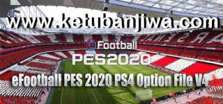 PES 2020 PS4 Option File v4 AIO DLC 5.00