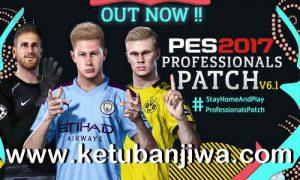 PES 2017 Professionals Patch v6.1 Update Season 2020 Ketuban JIwa