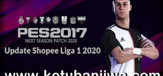 PES 2017 Shopee Liga 1 Update 2020 For Next Season Patch