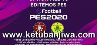 PES 2020 PS4 Option File Editemos v3 AIO