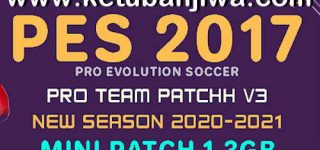 PES 2017 Pro Team Patch v3 AIO Season 2021